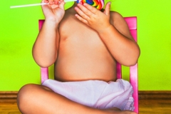 Colorful Child Portrait